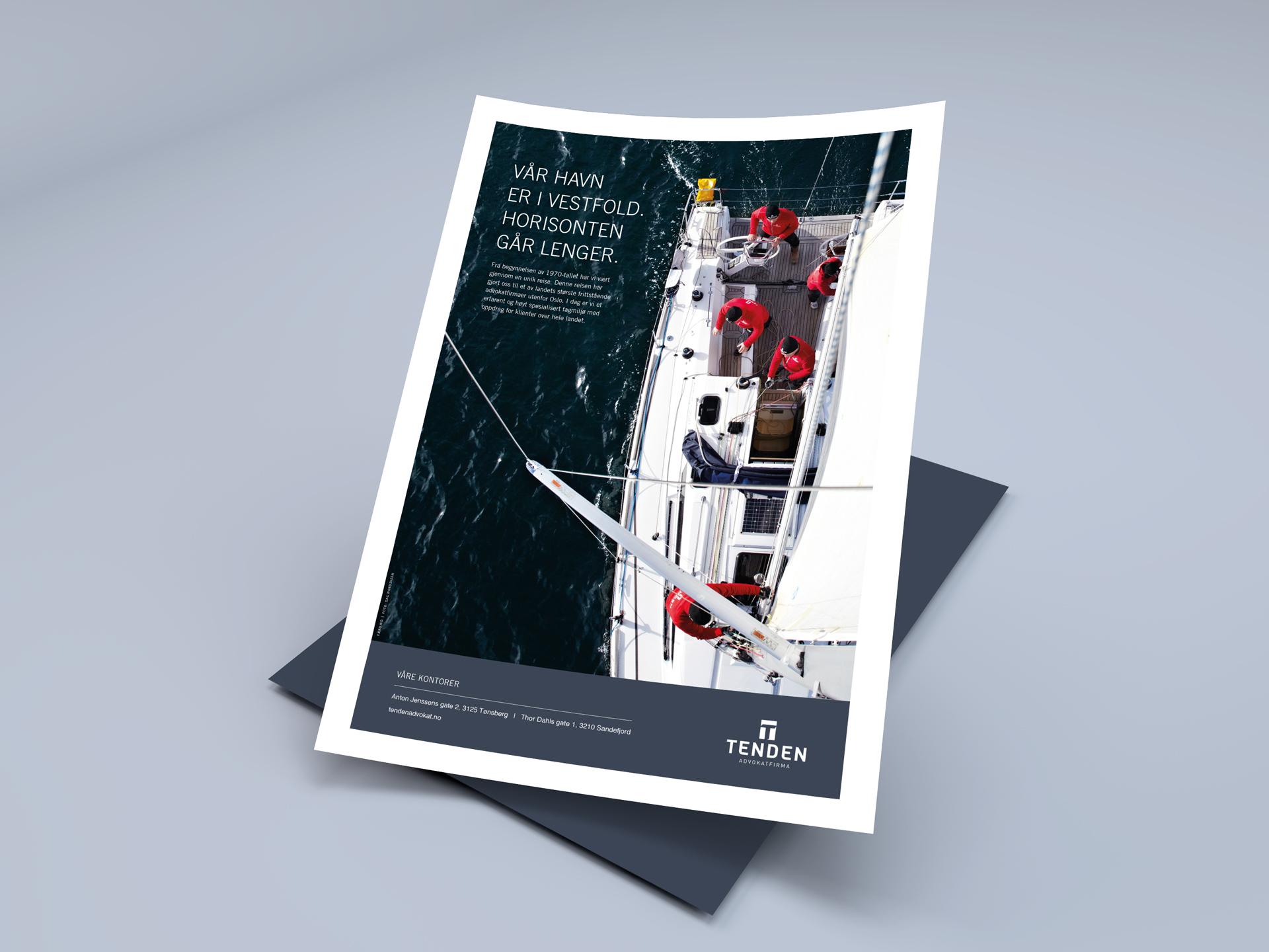 Tenden-sail-annonse-papir