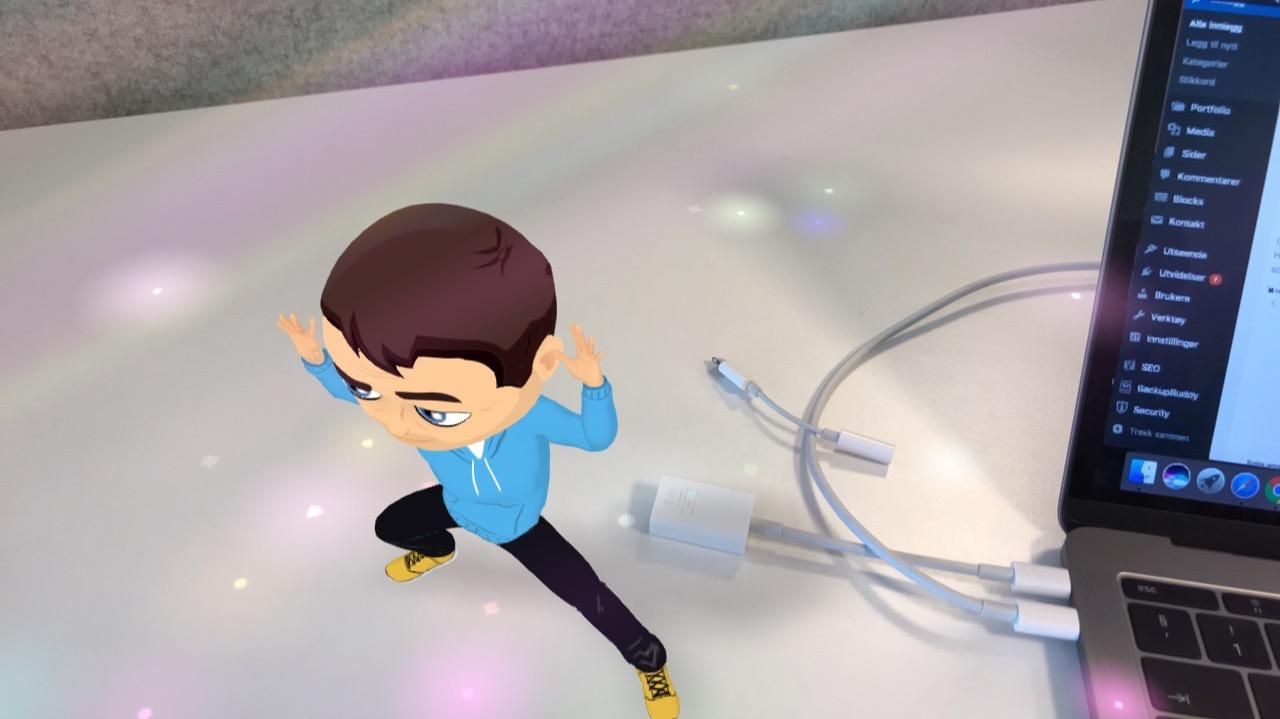 elektrisk Bitmoji Snapchat