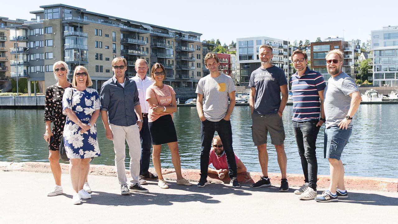 Færd gjengen på brygga i Tønsberg - fusjonerer med Marketing Services