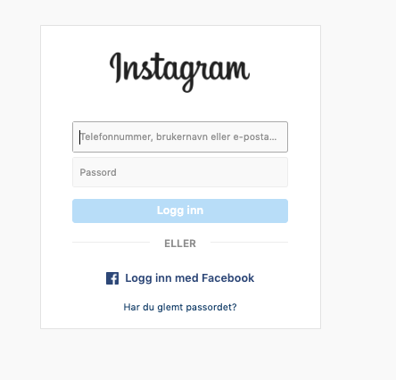 Login instagram 2