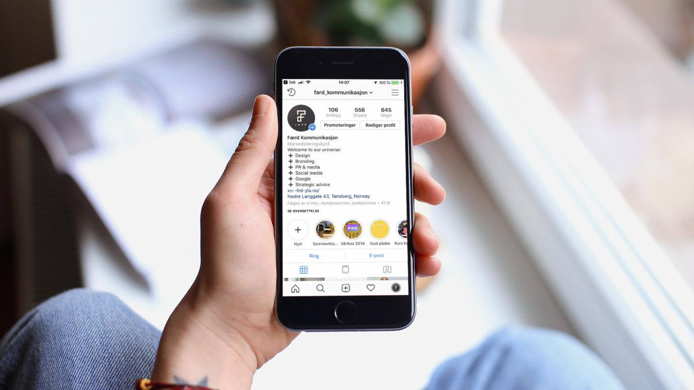 Slik planlegger du poster på Instagram
